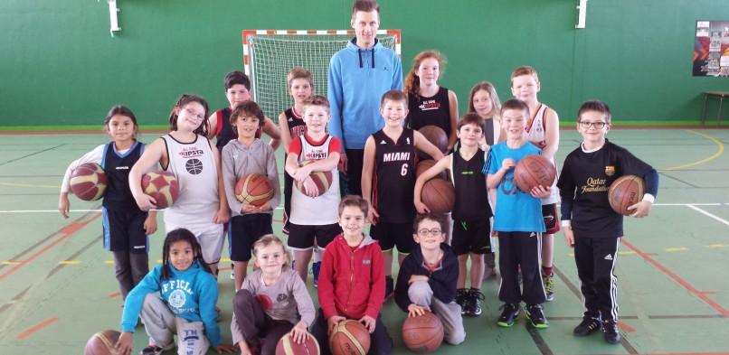 Stage de basket durant les vacances scolaires de Février 2015