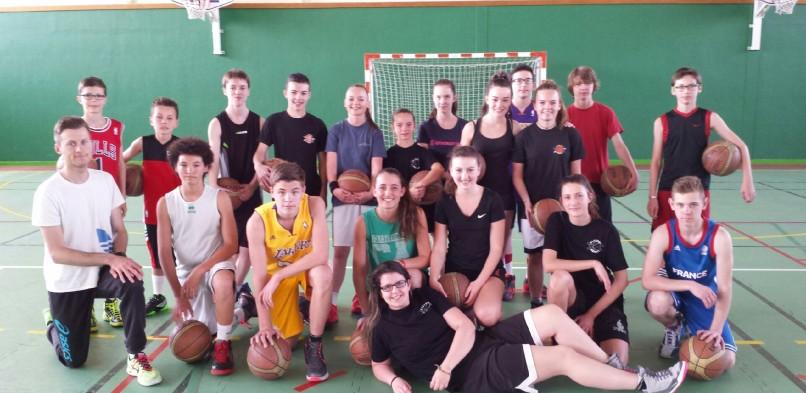 Stage basket durant les vacances d'Avril 2015